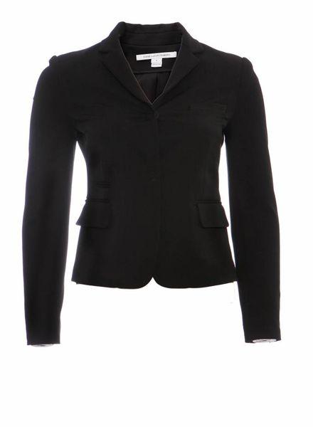 Diane VonFurstenberg Diane Von Furstenberg, black colbert in size 0/XS.