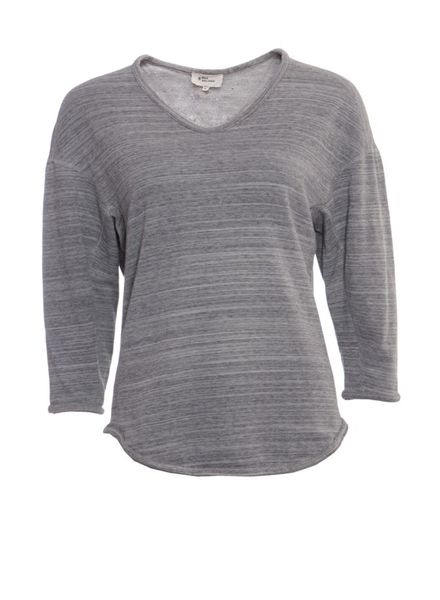 Isabel Marant Isabel Marant, grey sweater with 3/4 sleeves in size M.