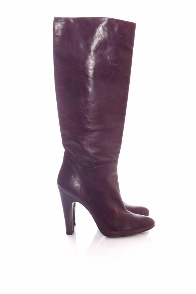 4b7898b0d6dd6 Pedro Garcia Pedro Gracia, purple leather boots in size 40. - Unique ...