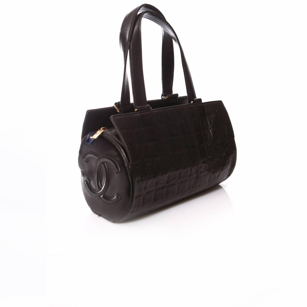 86abbebb56af Chanel Chanel, Black cylinder bag. - Unique Designer Pieces