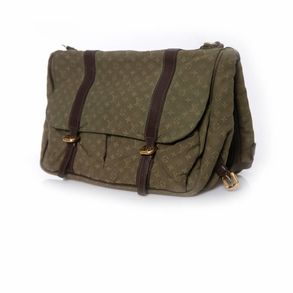 92580569365aa Louis Vuitton Louis Vuitton, Monogram Canvas Sac Maman Baby & Diaper Bag in  green.