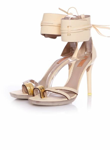 Reed Krakoff, beige sandals in size 39.