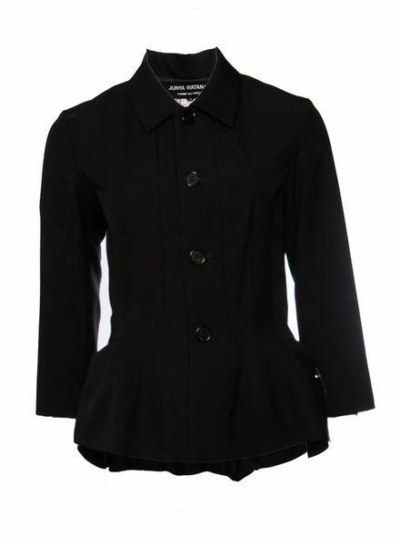 Comme des garçons Junya Watanabe/Comme des garçons, zwarte blazer/tas in maat M.