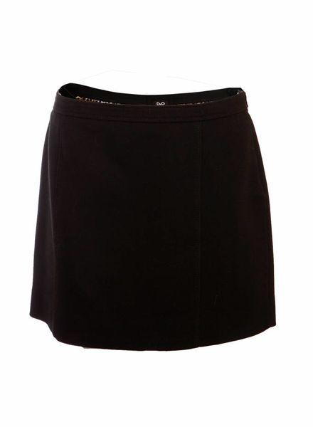 Dolce & Gabbana Dolce & Gabbana, zwarte rok in maat IT44/M.