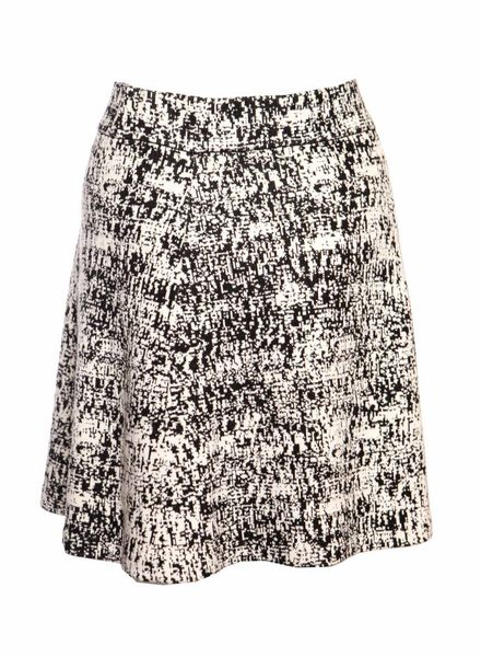 Theory Theory, black and white knitted skirt in size P/S (stretch).