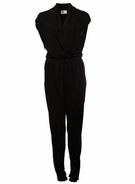 Lanvin Lanvin, black jumpsuit in size 36/S.
