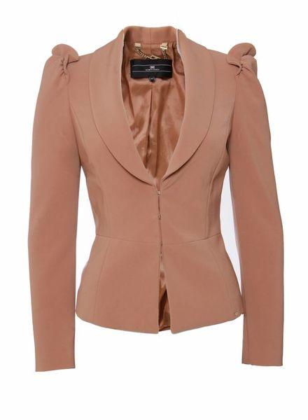 Elisabetta Franchi Elisabetta Franchi, Oud roze gekleurde blazer in maat IT42/S.