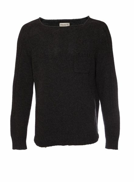 Dries van Noten Dries Van Noten, Grey knitted jumper in size XL.