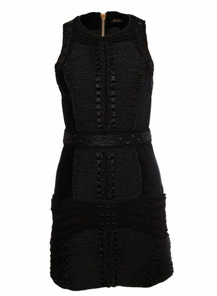 Balmain X H&M Balmain X H&M, zwart fluweel jurkje.