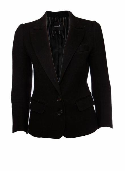 Isabel Marant Isabel Marant, zwart wollen blazer in maat 1/S.