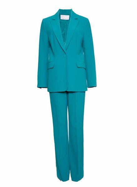 Claes Iversen Claes Iversen, Turquoise pak in maat 38/M.