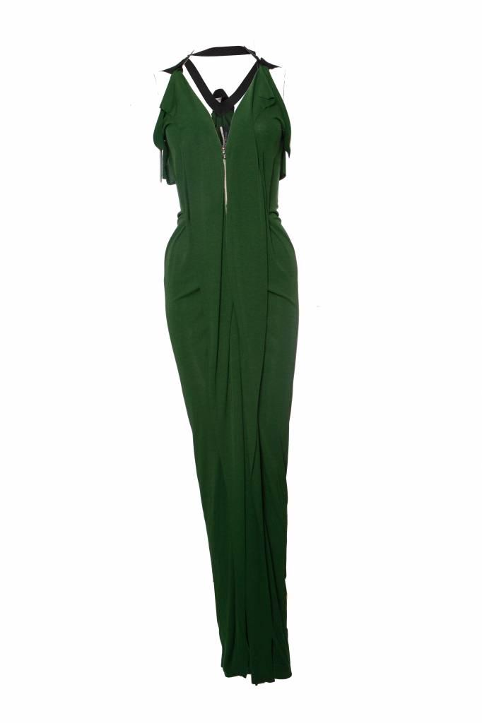 Roland Mouret Dark Green Dress In Size De36 S