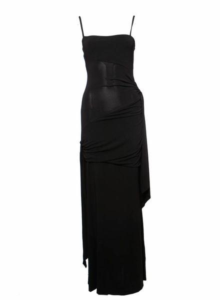 Valentino Valentino, black evening dress in size IT42/S.