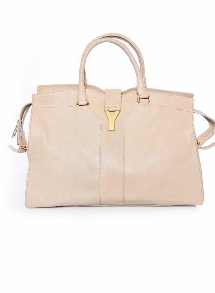 Yves Saint Laurent Yves Saint Laurent, Beige/Sand colored Cabas Chyc bag.
