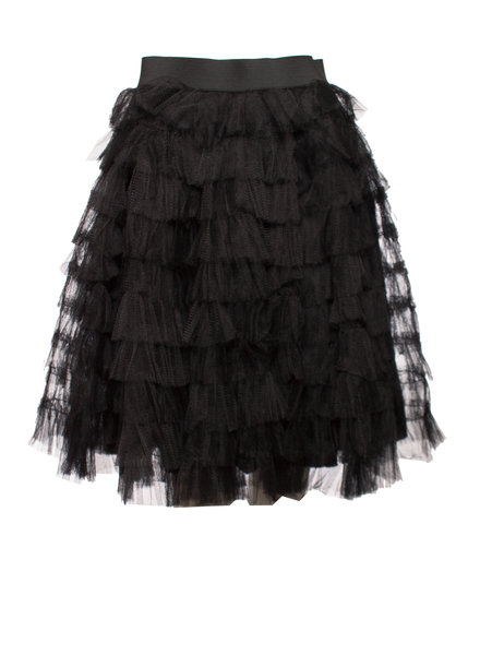 Red Valentino Red Valentino, Black tule skirt in size IT40/XS.