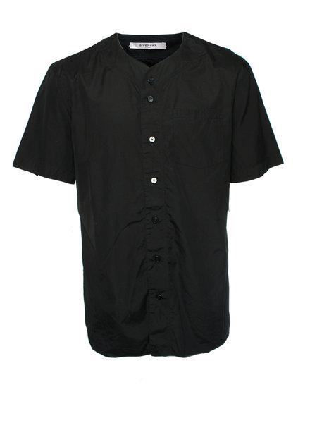 Givenchy Givenchy, Zwarte bloes met nr 17 op de rug in maat 40/L.