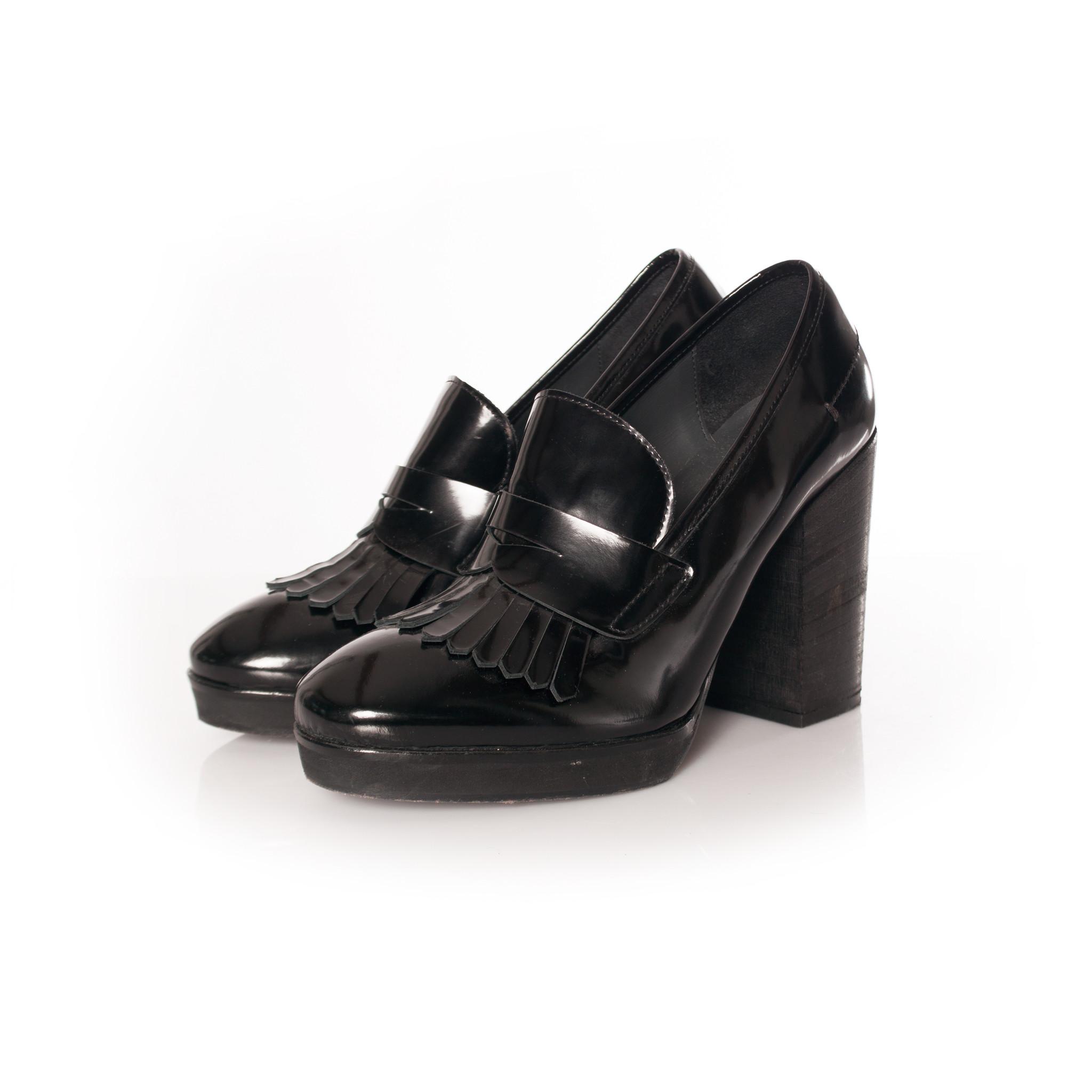 Fiorifrancesi, black patent leather