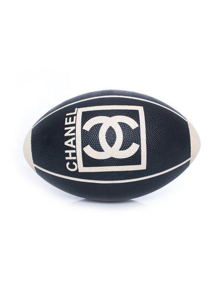 Chanel Chanel, lederen rugbybal.