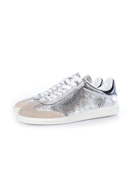 Isabel Marant Isabel Marant, Bryce metallic veter sneakers in maat 44.