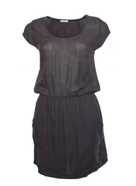 American Vintage American Vintage, Grijs jurkje met steekzakken in maat S.
