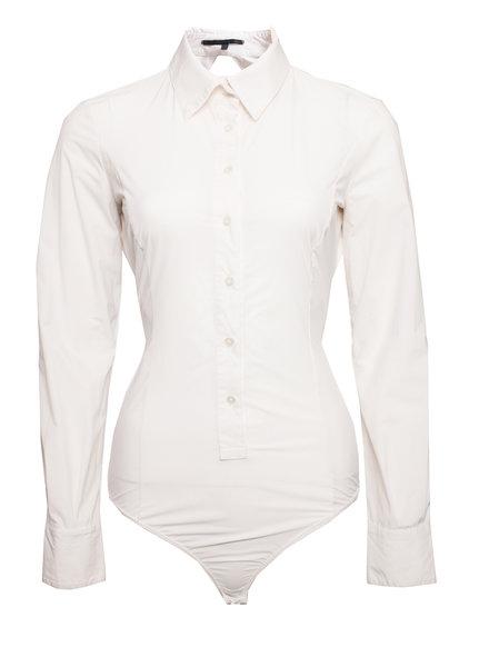 Elisabetta Franchi Elisabetta Franchi, white body with collar.