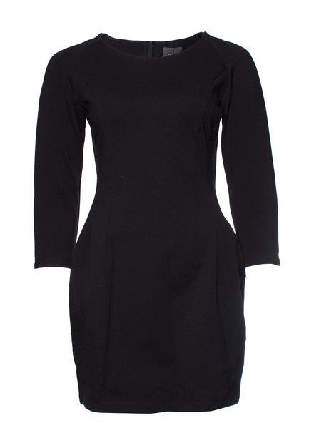 Calvin Klein Calvin Klein, zwarte stretch jurk in maat US4/S.