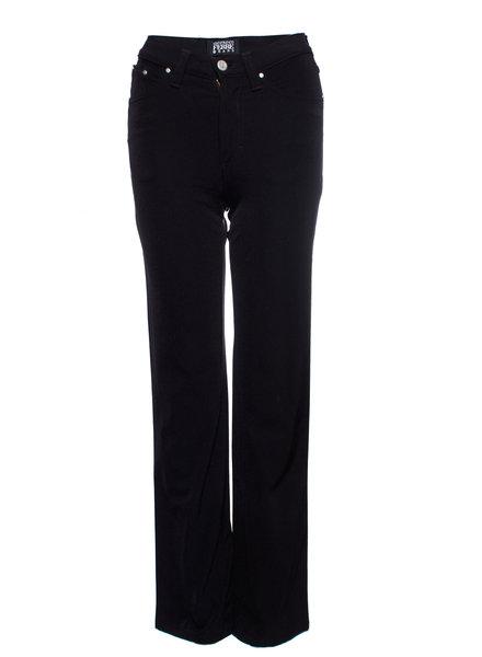 Gianfranco Ferre Gianfranco Ferre Jeans, Vintage zwarte stretch broek in maat 27/S.