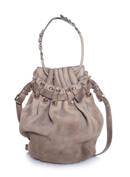 Alexander Wang Alexander Wang, Brown leather bucket bag.