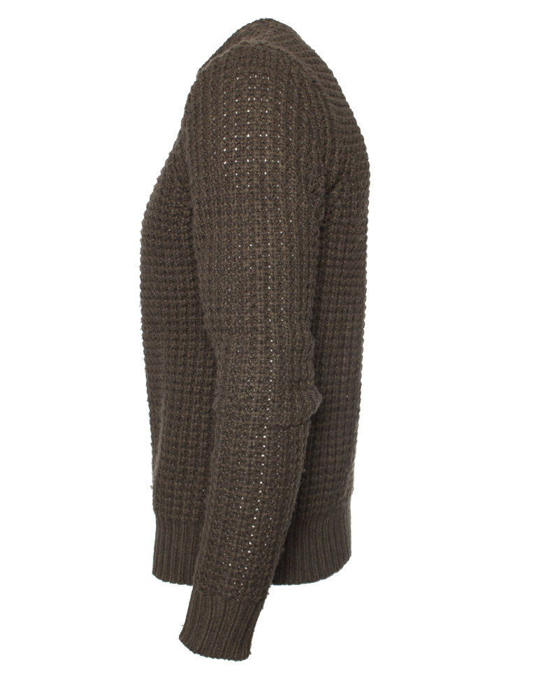 All Saints All Saints, green knitted wool sweater in size S.