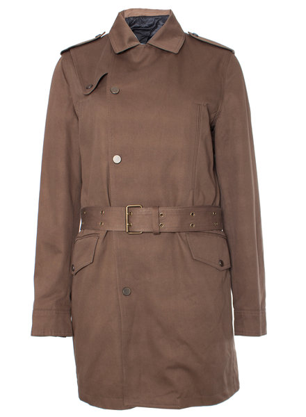 The Kooples The Kooples, Khaki colored trench coat in size IT46/S.