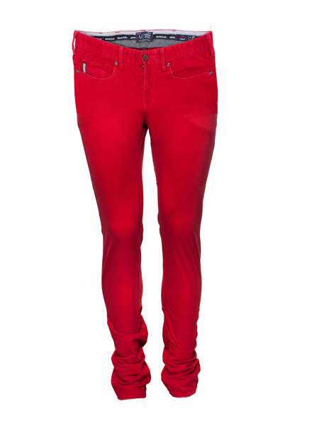 Armani Jeans Armani Jeans, Rode spijkerbroek in maat W29/S.
