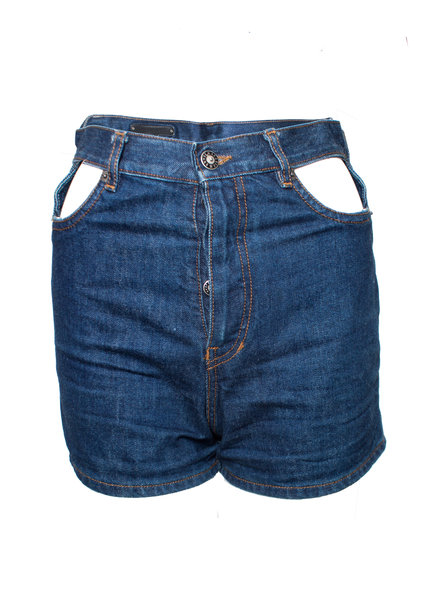 Jean Paul Gaultier Gaultier Jeans, vintage shorts with open pieces in size IT42/S.