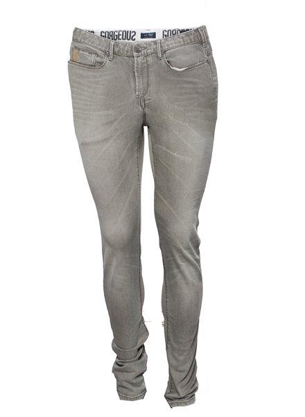 Armani Jeans Armani Jeans, Lichtgrijze slimfit jeans in maat W29/S.