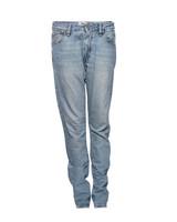 Acne Acne, Lichtblauwe losvallende spijkerbroek in maat 28/S.