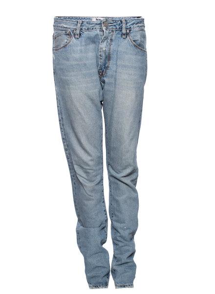 Acne Acne, Lichtblauwe losvallende spijkerbroek.