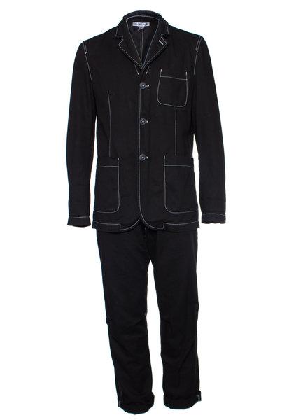 Comme des garçons Comme Des Garçons, Black suit in size L.