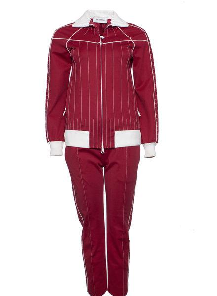 Valentino Valentino, Techno jersey suit in size 38/XS.