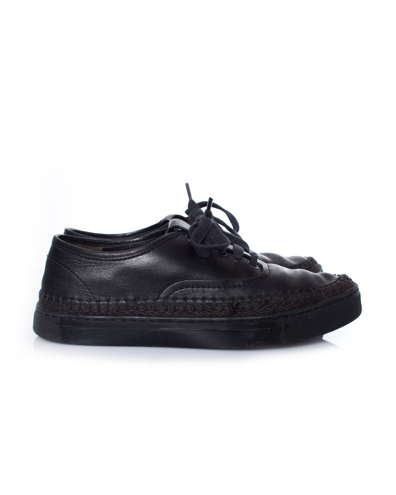 Alexander Wang Alexander Wang, Black Jess low sneakers in size 36.