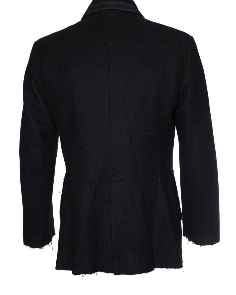 Vivienne westwood, Black wool peacoat in size IT48/M.