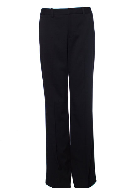 Suistudio Suistudio, Black flared wool trousers in size 38/M.