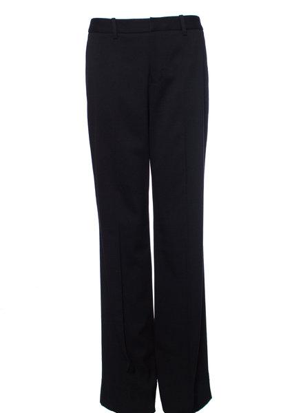 Suistudio Suistudio, Black flared wool trousers.