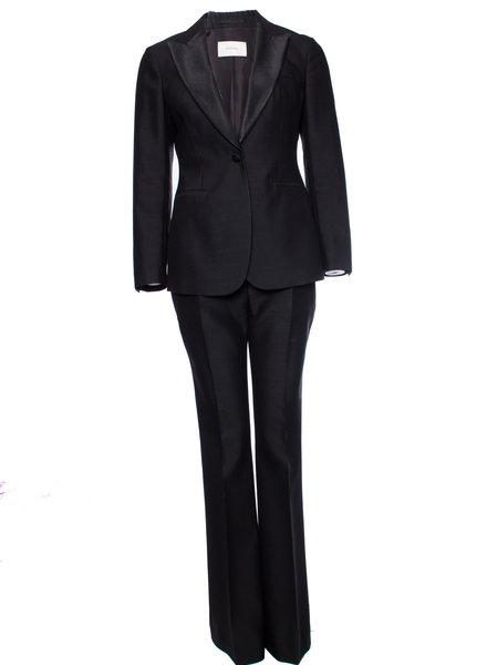 Suistudio Suistudio, Black wool suit in size 38/M.