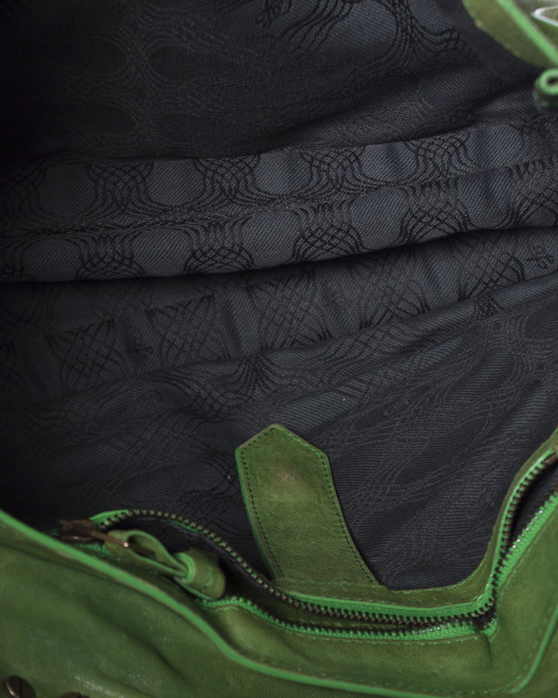 Proenza Schouler Proenza Schouler, Ps1 Medium Kelly green leather satchel.