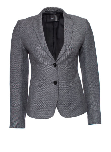 Filippa K Filippa K, Light grey wool Fishbone blazer in size XS.