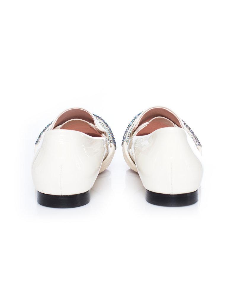 Christopher Kane, Embellished leather loafers.
