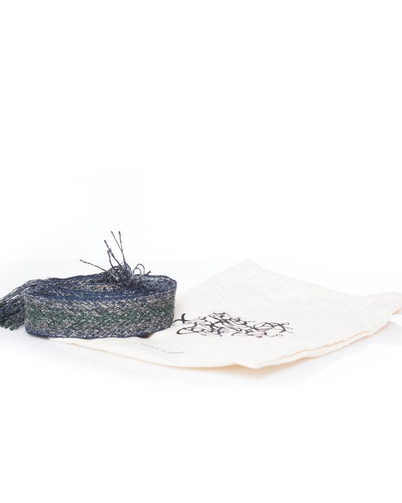 Isabel Marant Etoile Isabel Marant Etoile, embroidered canvas belt.