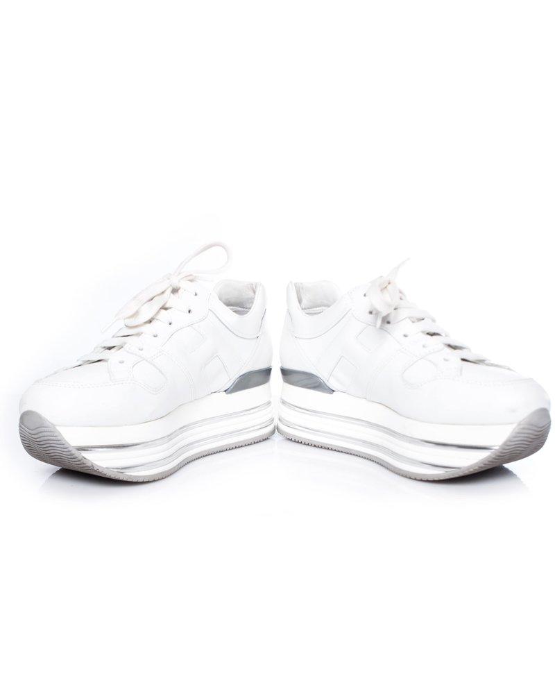Hogan Hogan, White platform sneakers.
