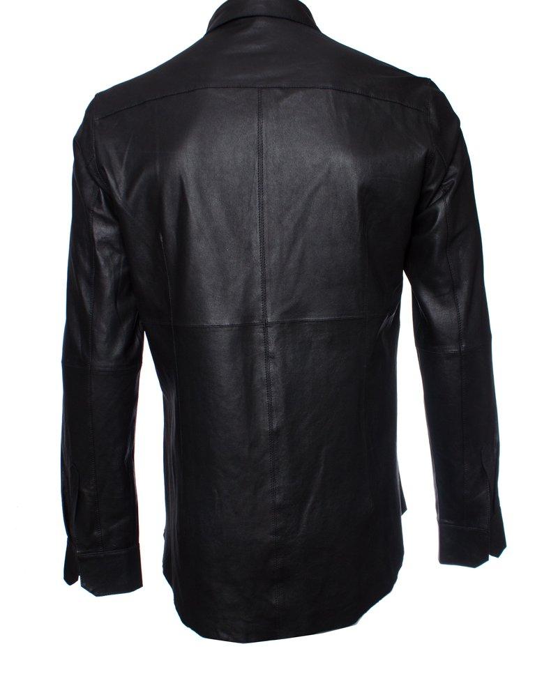 Olsthoorn Vanderwilt, shirt leather jacket.