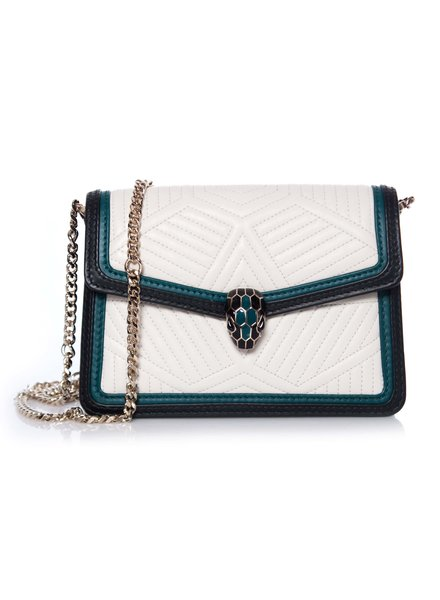 Bvlgari Bulgari, Serpenti Forever flap cover bag.