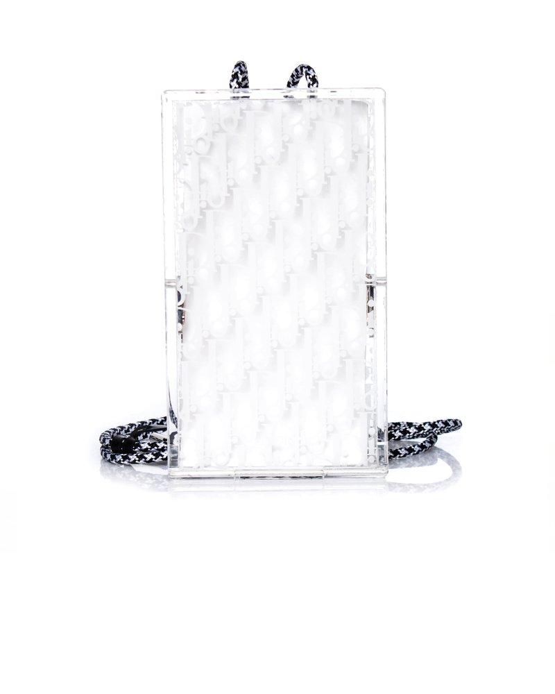 Dior Dior, Oblique Plexiglass Pouch.